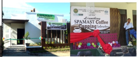SPAMAST, ACDI/VOCA launch Coffee Cupping Laboratory